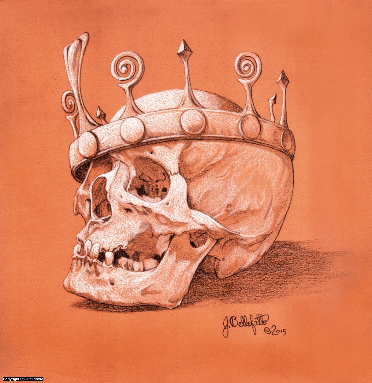 King of Pain  Artwork by Joseph Bellofatto