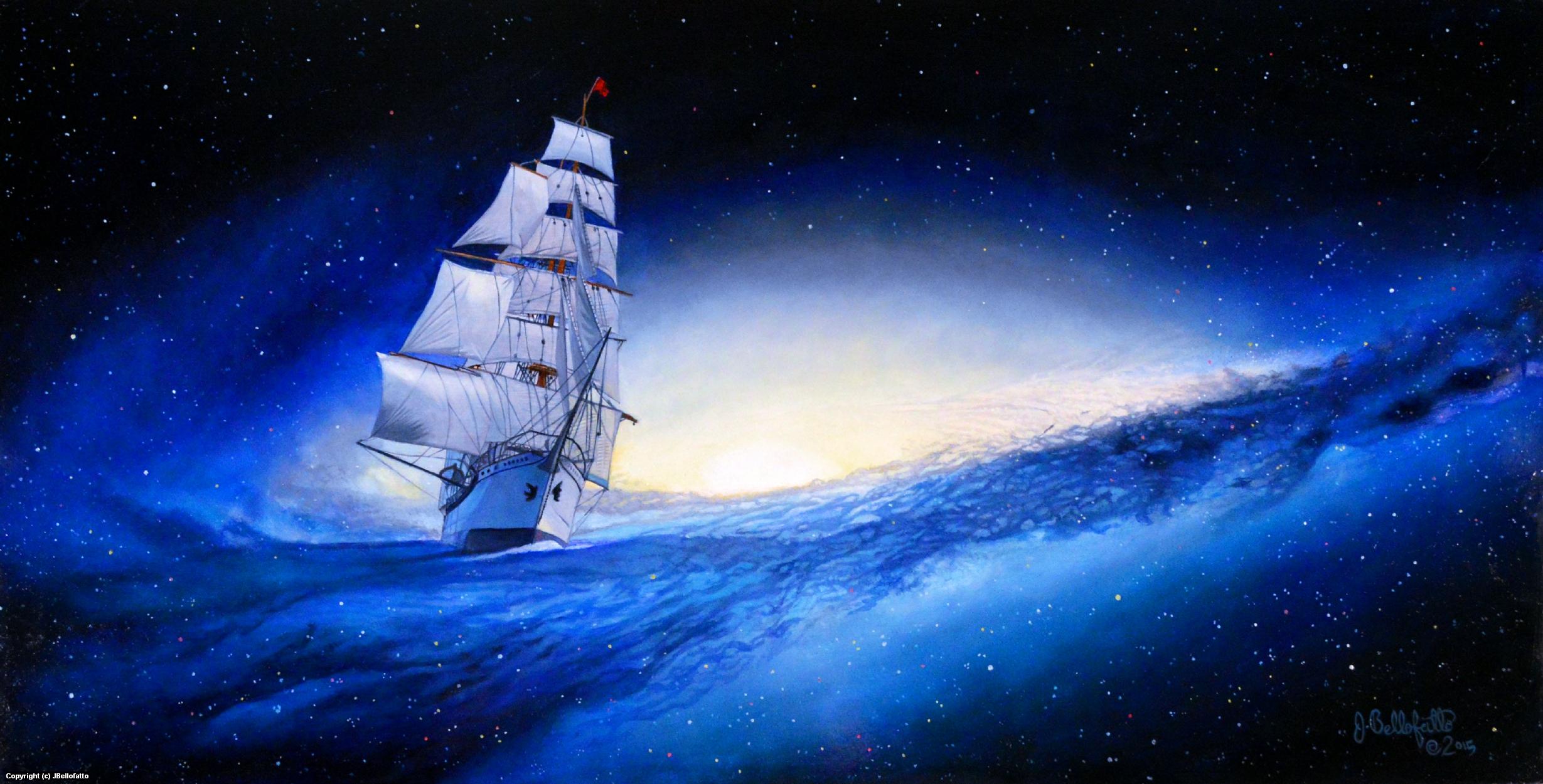 Star Ship Artwork by Joseph Bellofatto