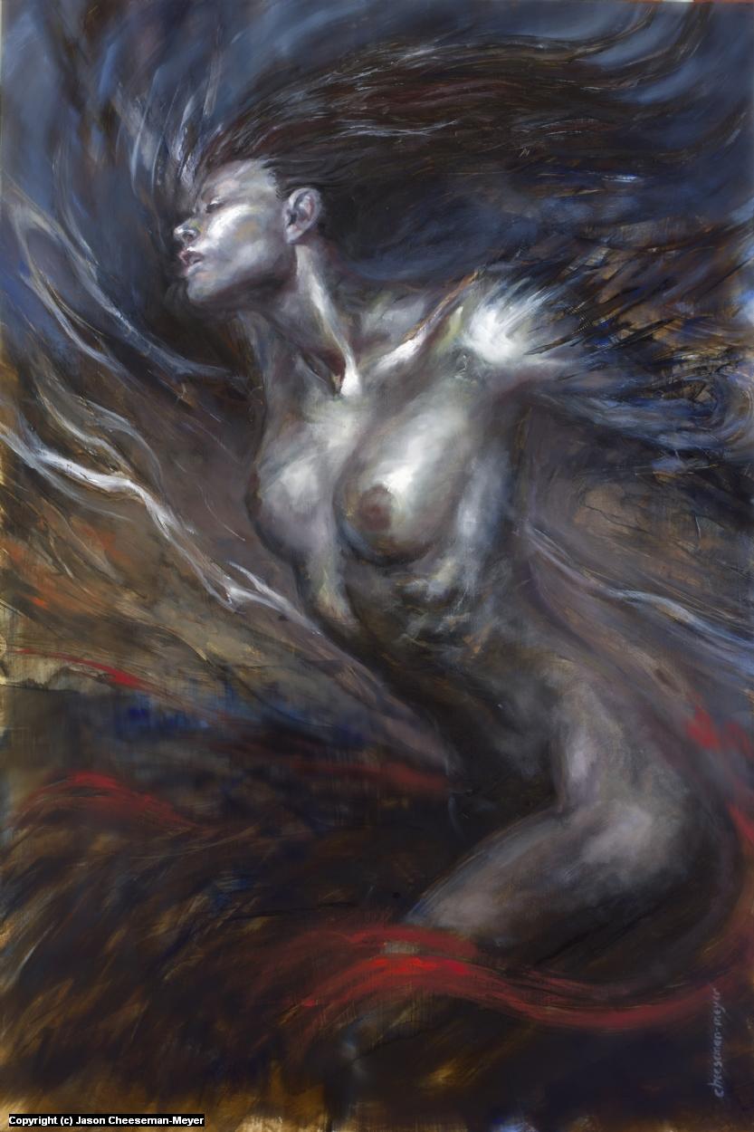 Velocity:Self-Creation Artwork by Jason Cheeseman-Meyer