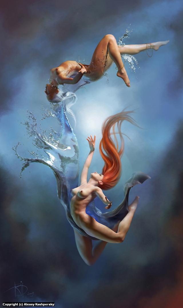 Dream... Artwork by Alexey Kashpersky