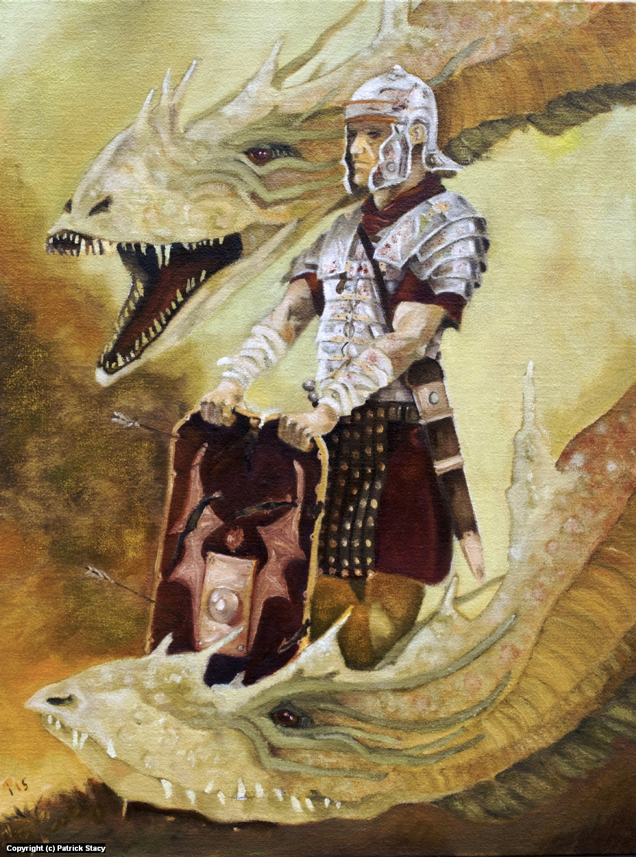 Romans and Dragons Artwork by Patrick Stacy