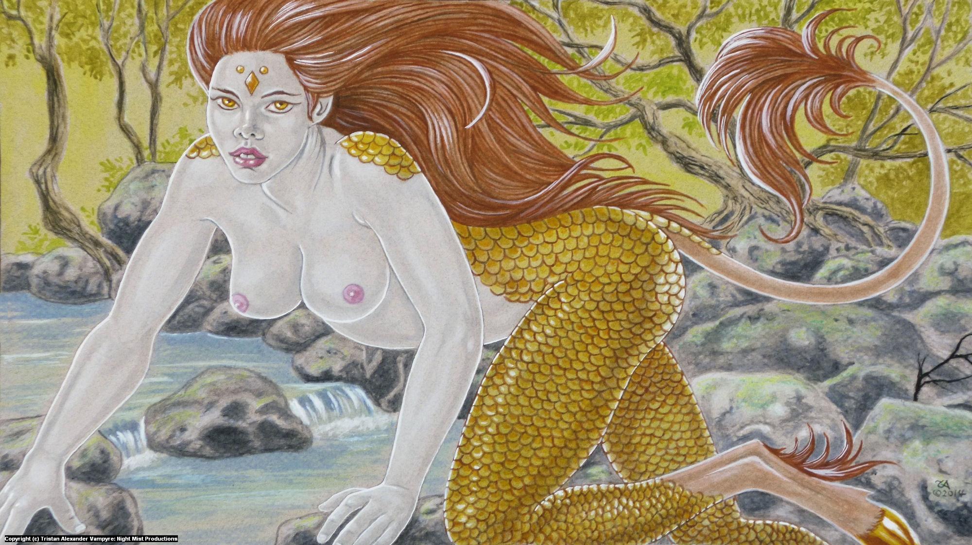 Kirin Transformation Artwork by Tristan Alexander