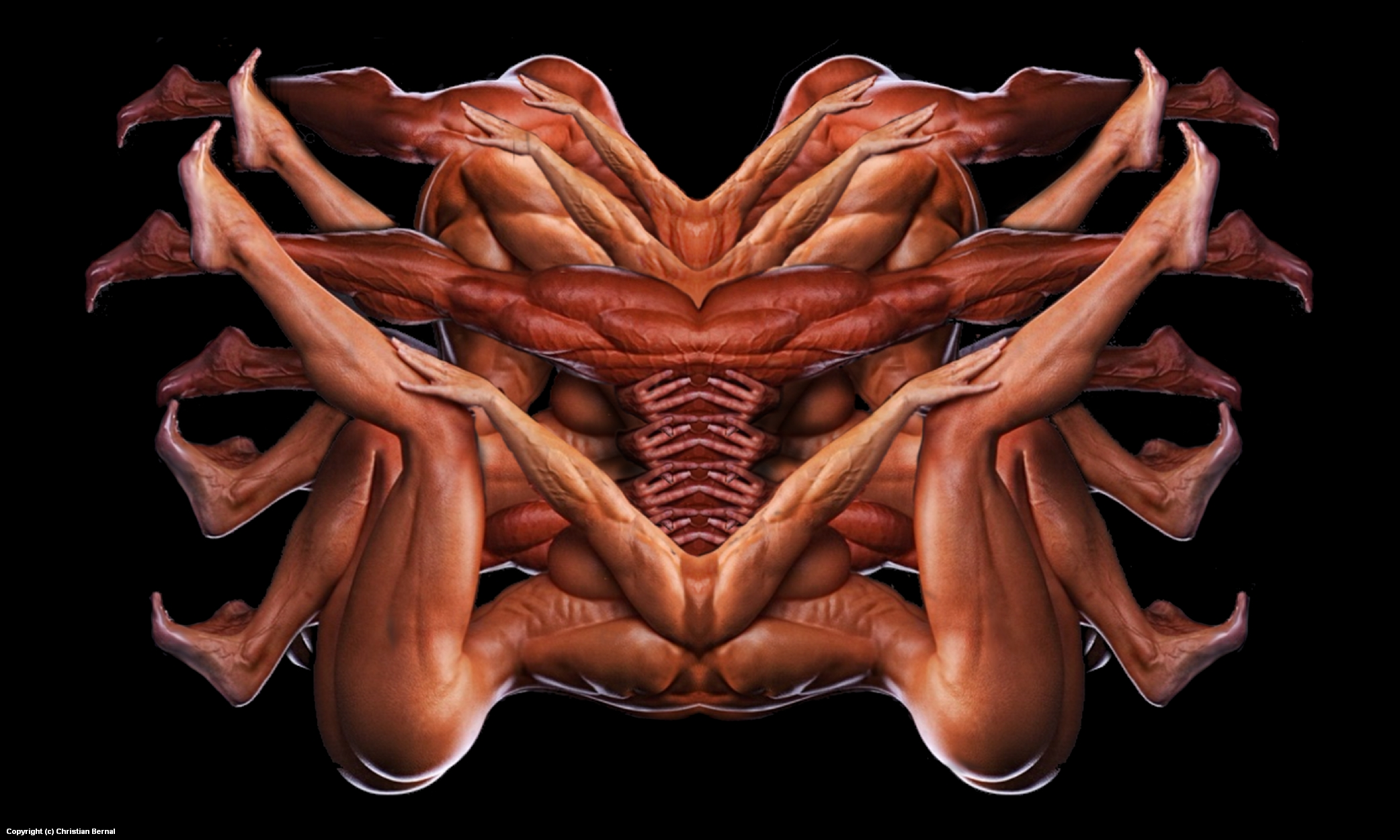 Herculean Complex Artwork by Christian Bernal