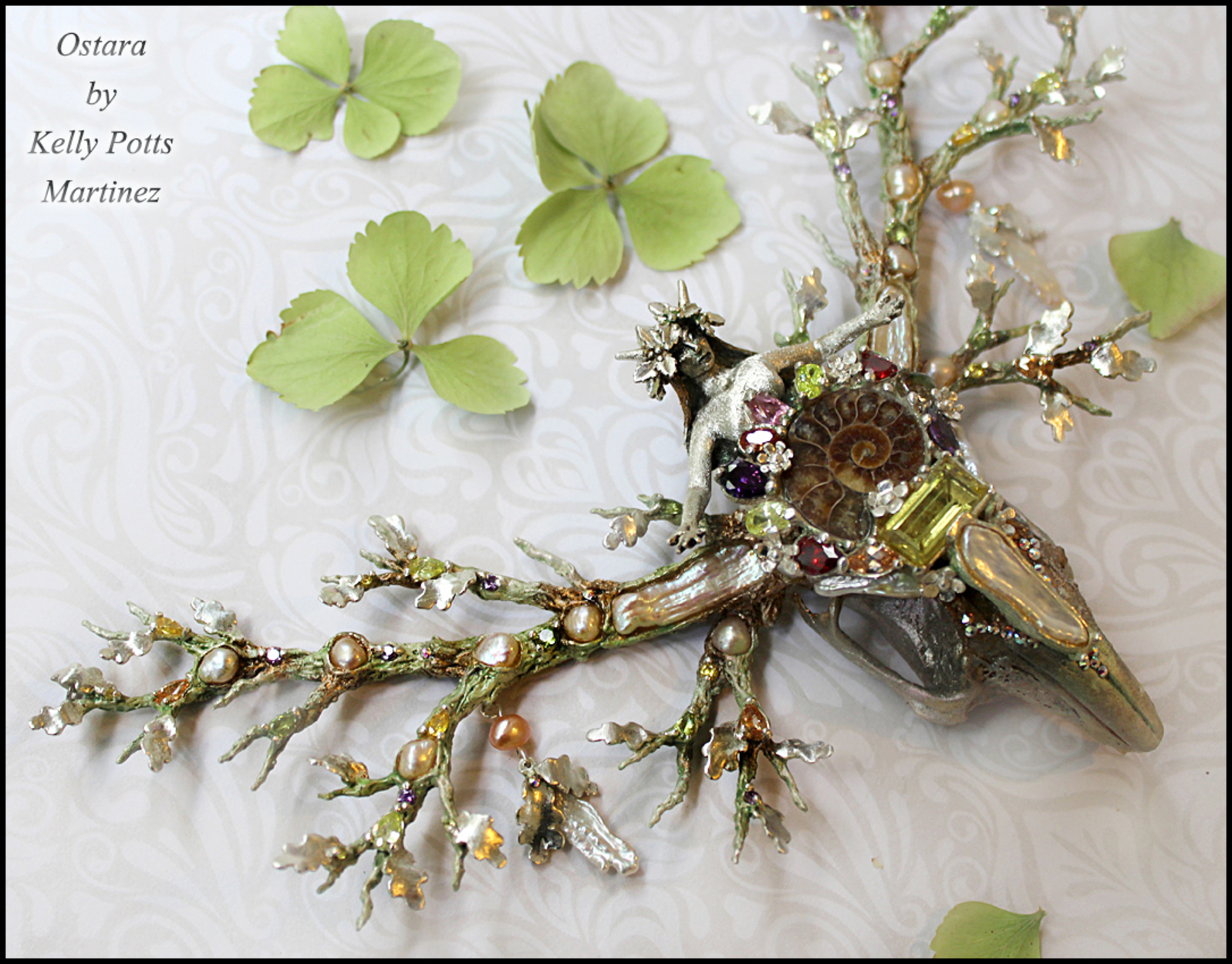 The Goddess Ostara Artwork by Kelly Potts Martinez