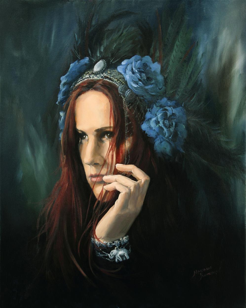 JEANNIE Artwork by Marianne Plumridge