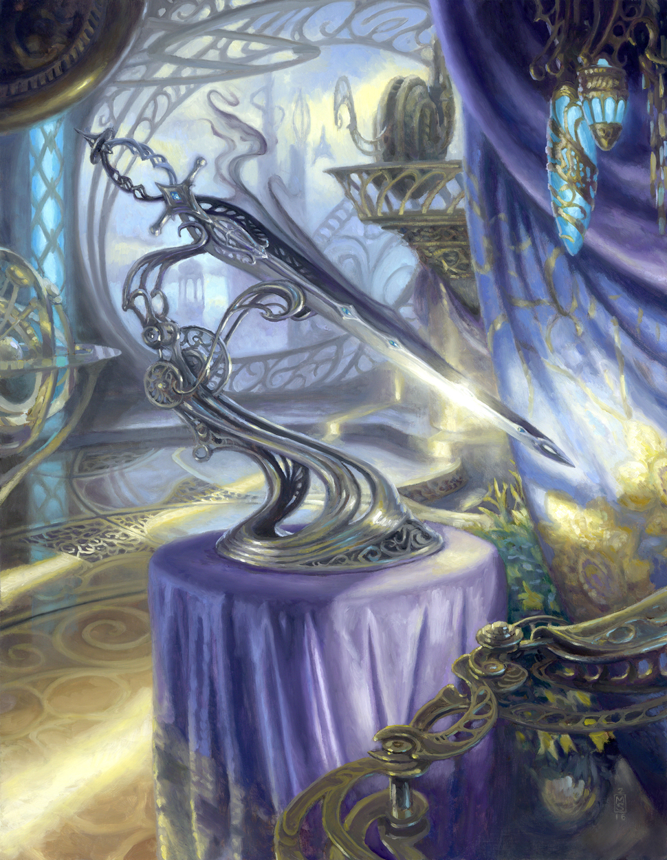 Sword of Light and Shadow Artwork by Matthew Stewart
