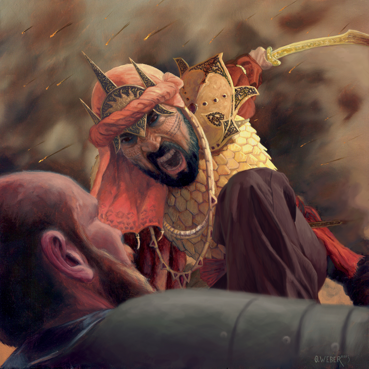 Haradrim Pirate Artwork by Owen Weber