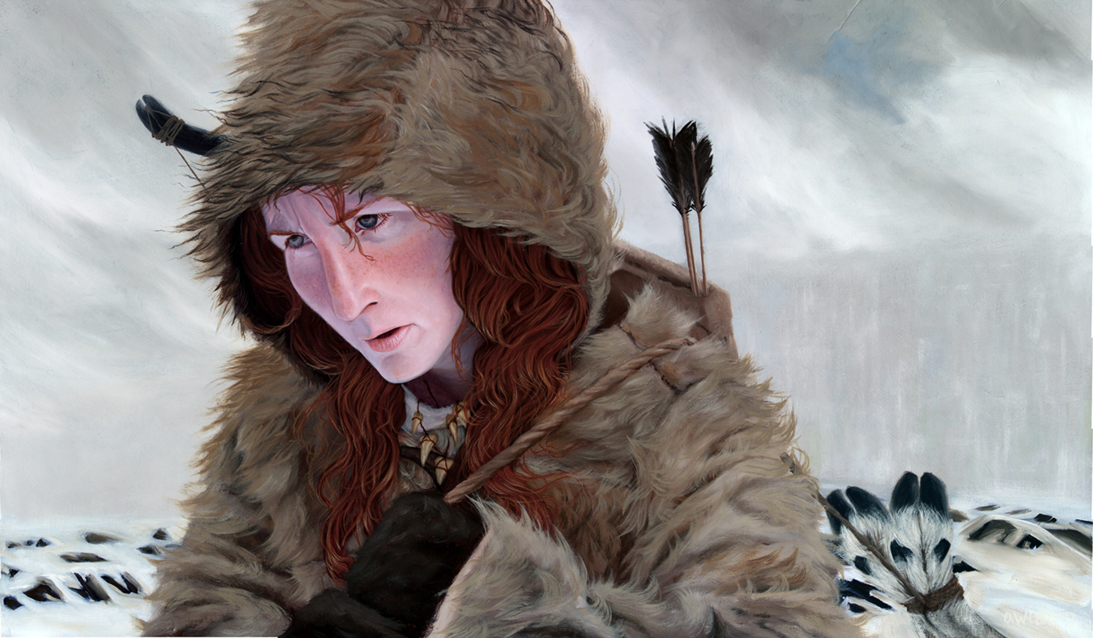 Kissed By Fire Artwork by Owen Weber
