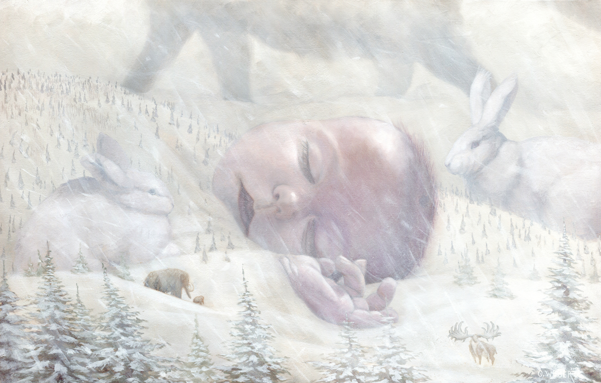Winter's Dream Artwork by Owen Weber