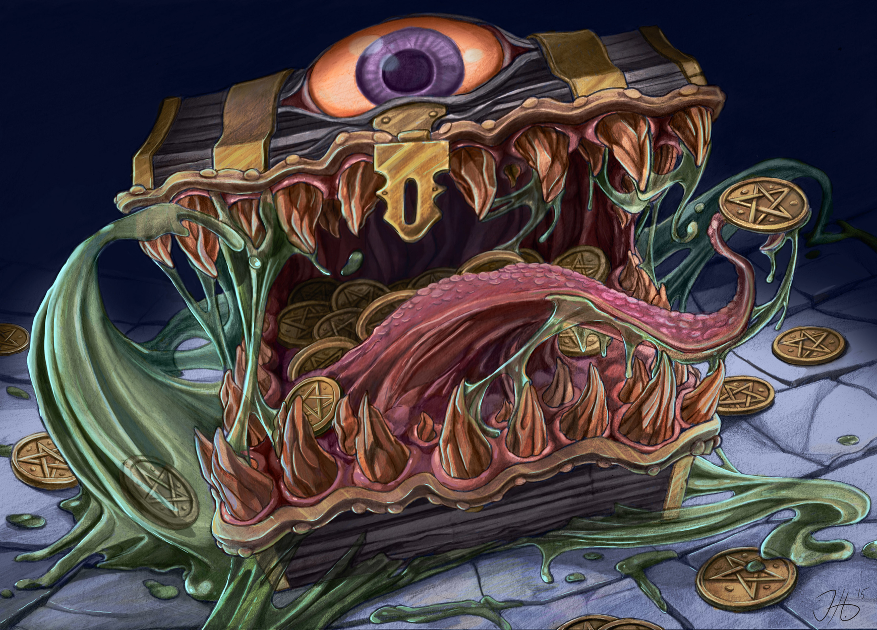 The Mimic Artwork by Jacqueline  Hines