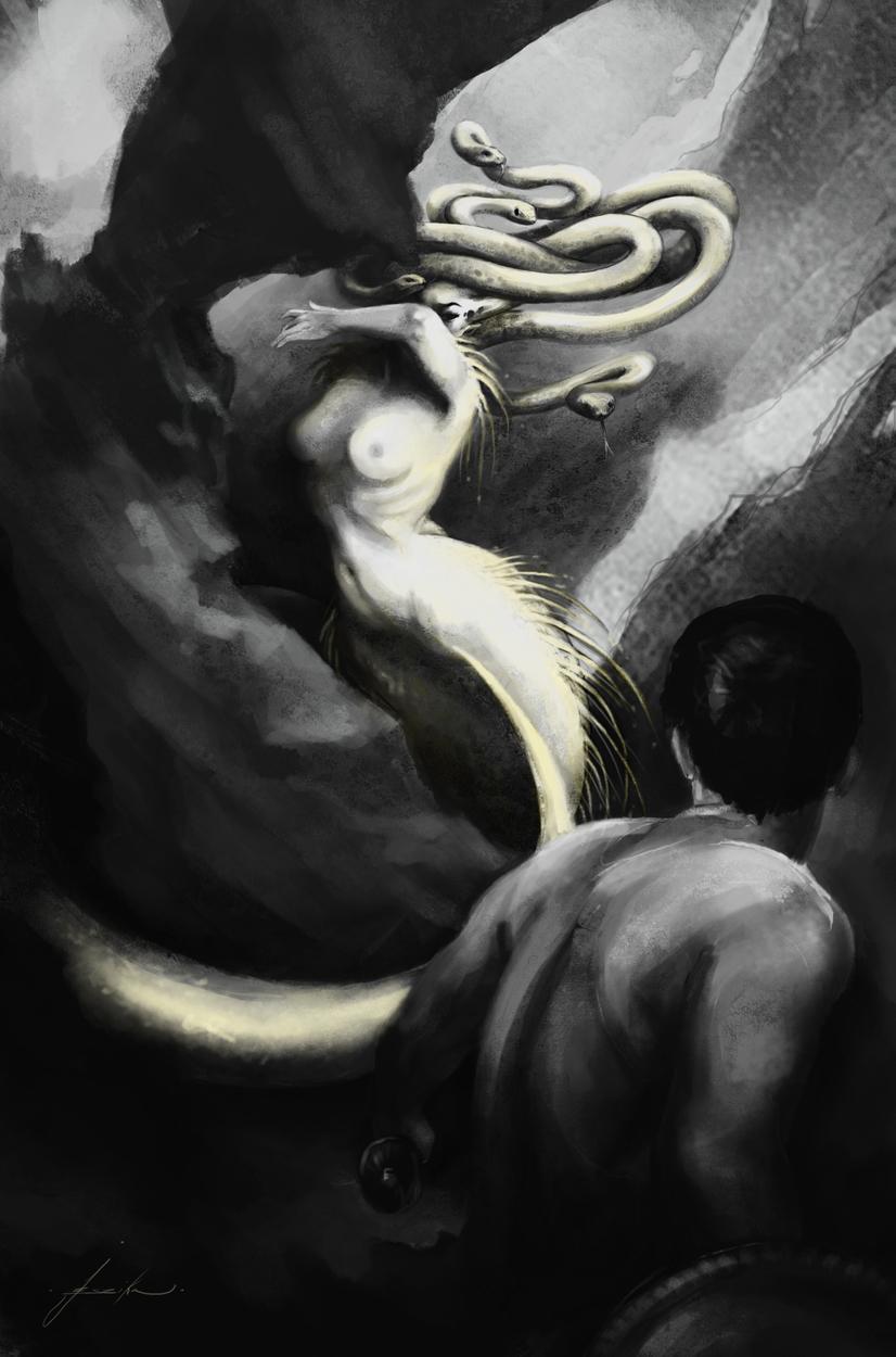 Luminescent as a Scar Artwork by Jeszika Le Vye