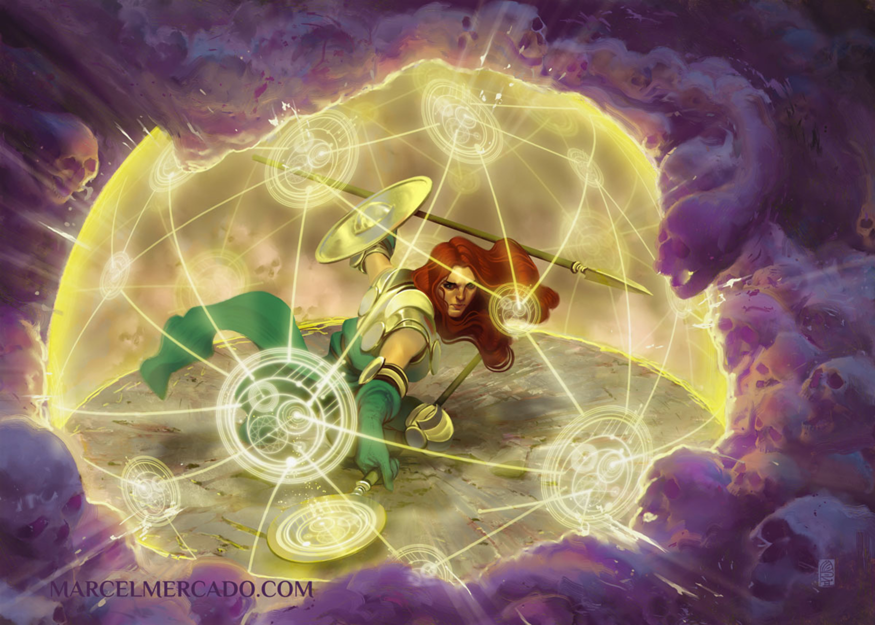 Angelic Magic Artwork by Marcel Mercado
