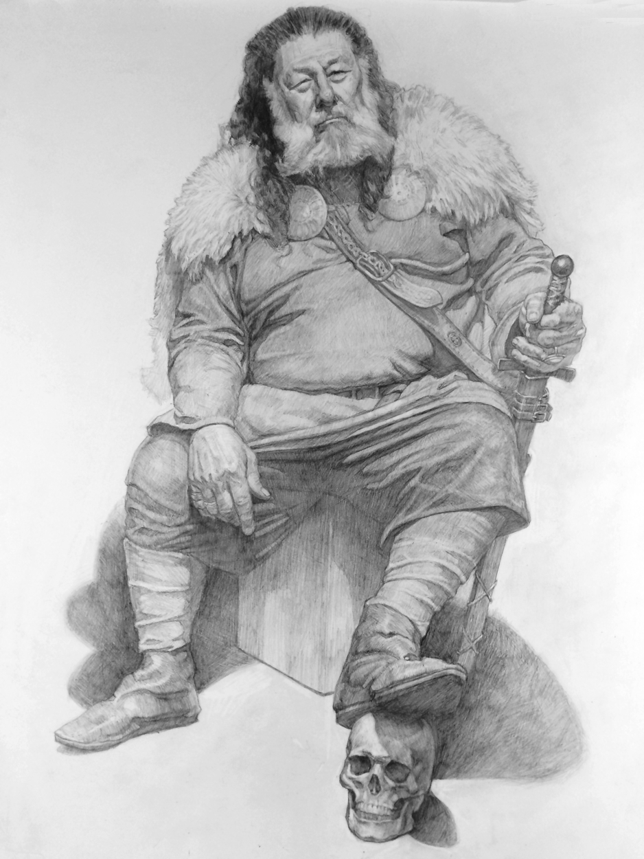 Viking Bawhb Artwork by Christopher Rossow