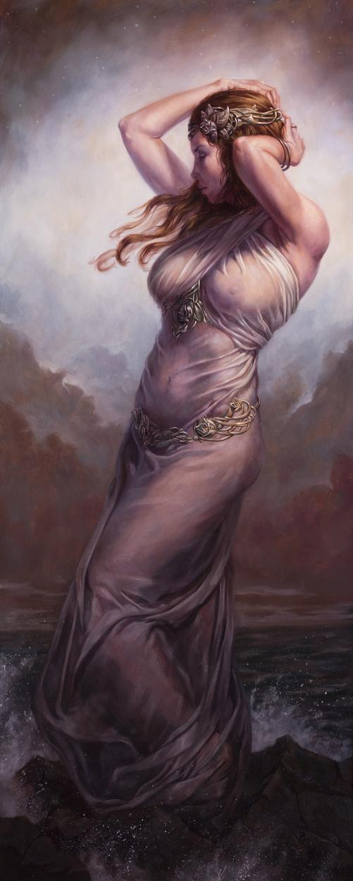 Serenity Artwork by Michael C. Hayes