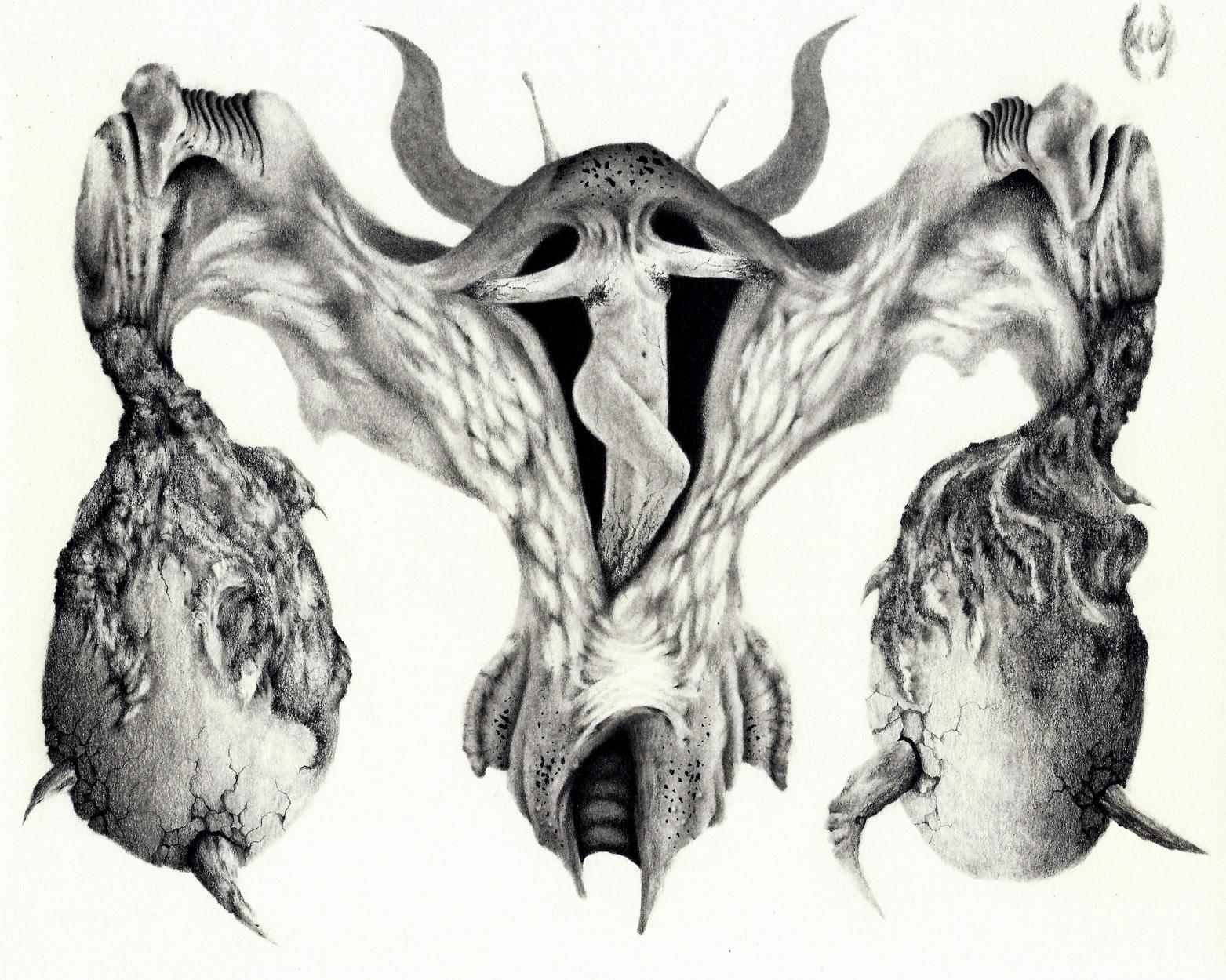 Asmodeah the Lustful Artwork by Misael Urquico