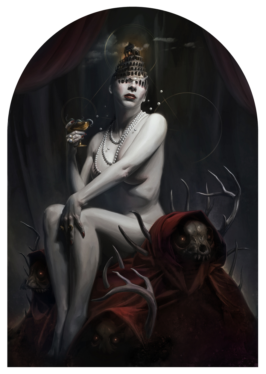 Whore of Babylon Artwork by David Seidman