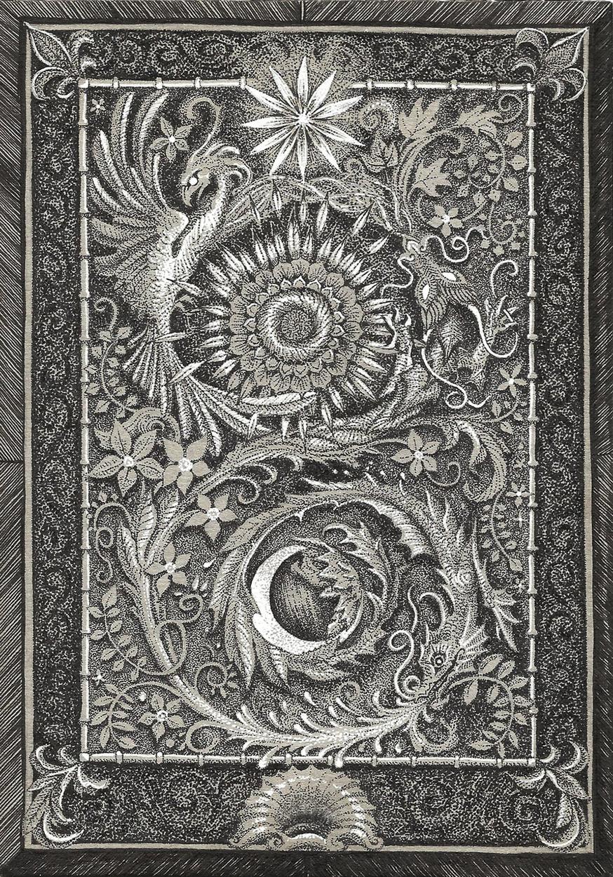 Star-Sun-Moon Artwork by Victoria Suppan