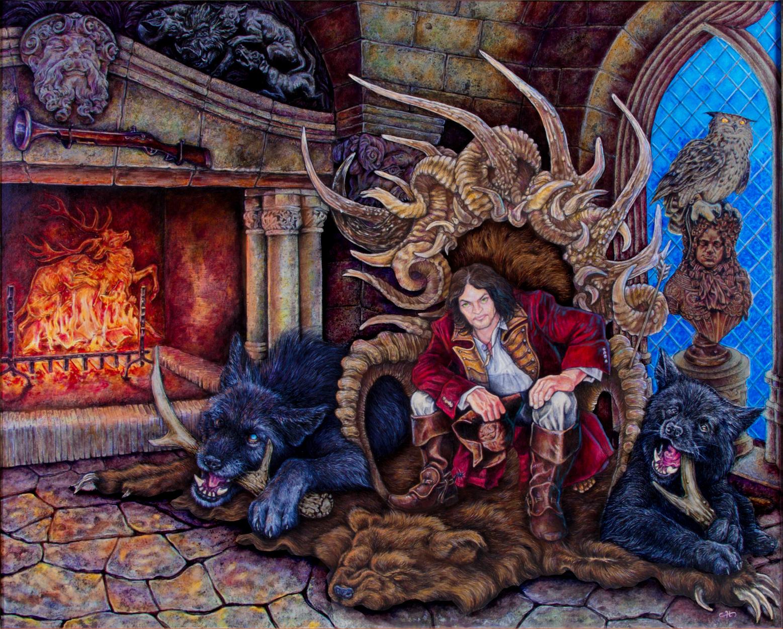 Night of the Hunter Artwork by Dan Chudzinski