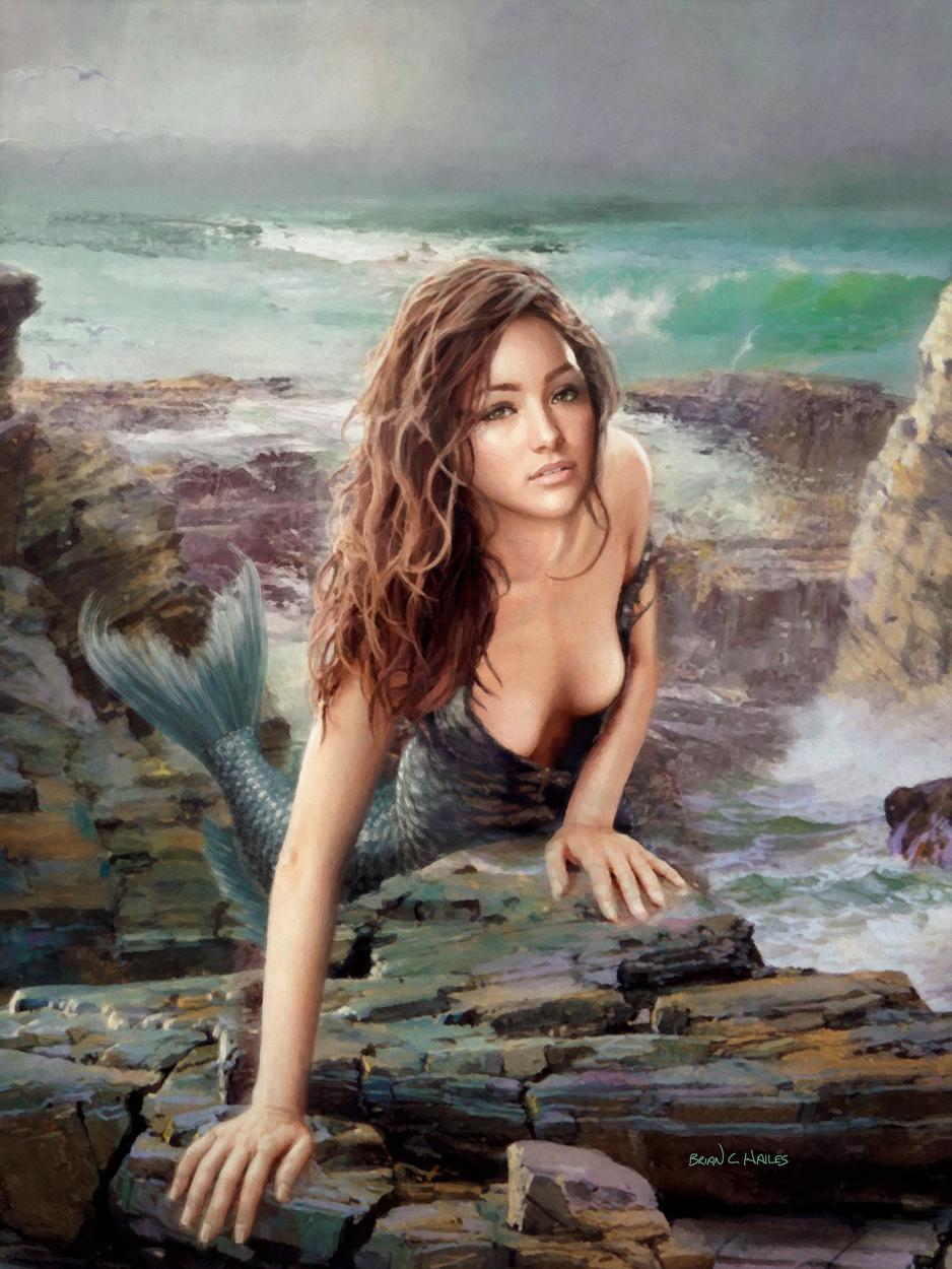 Siren Artwork by Brian C. Hailes