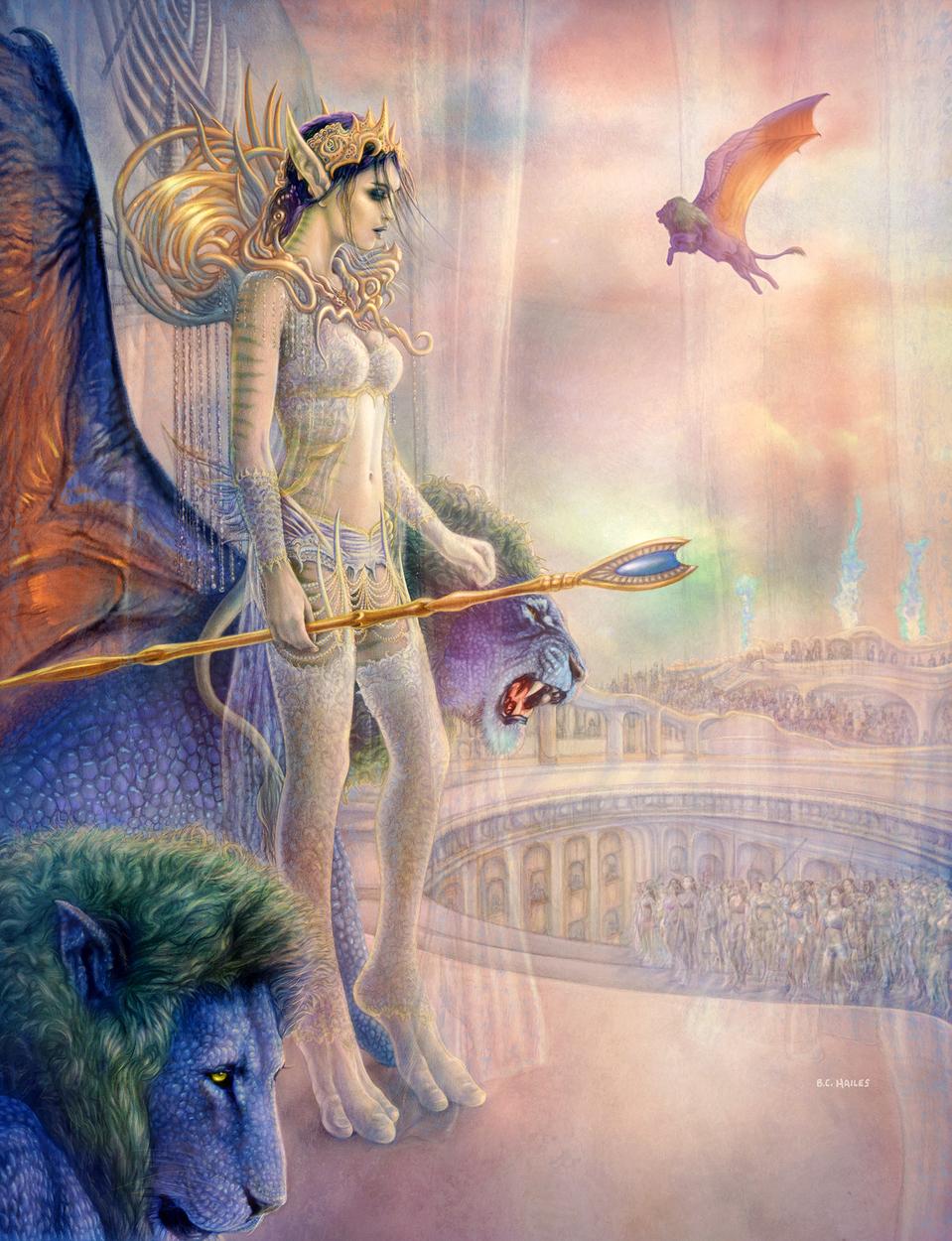 Karaya's Coronation Artwork by Brian C. Hailes