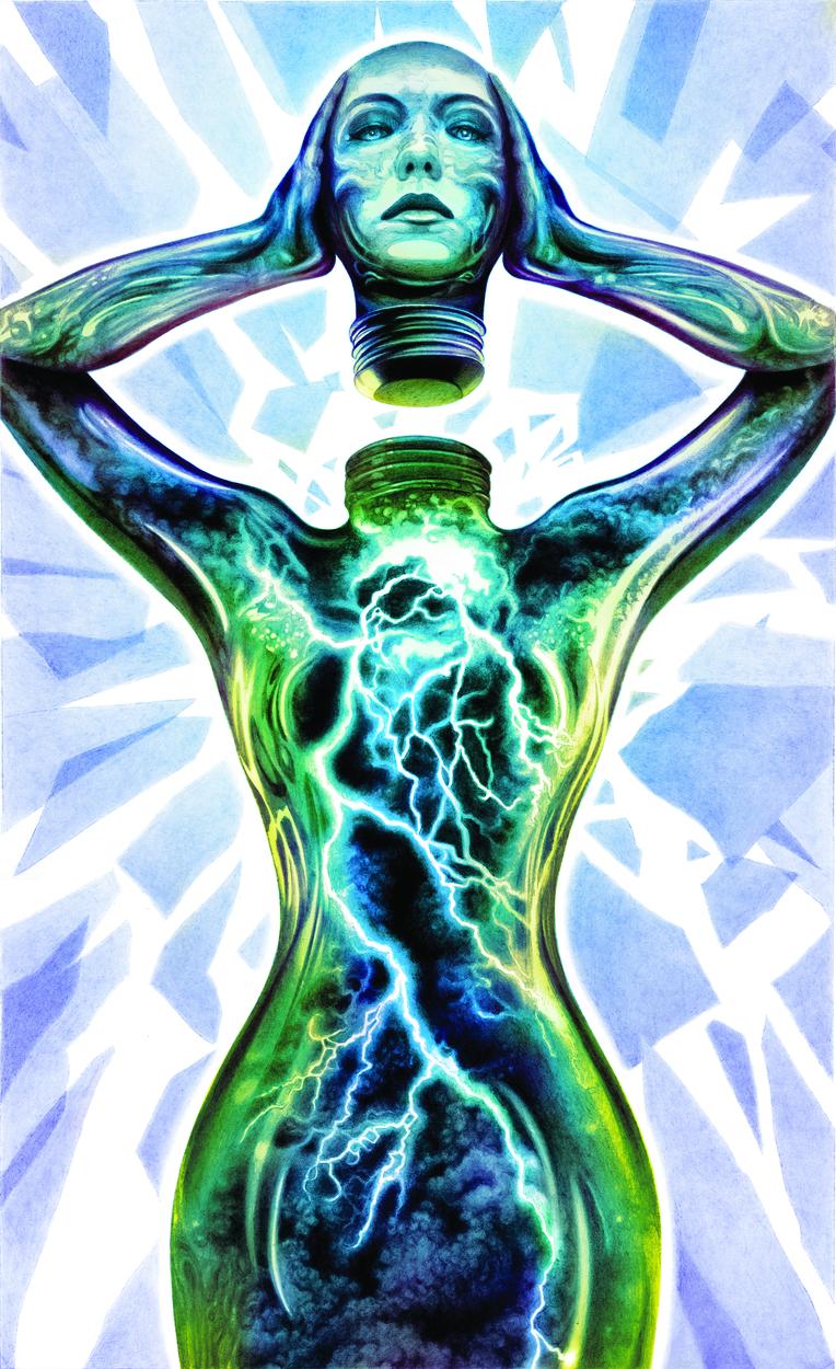 La Botella Artwork by John Picacio