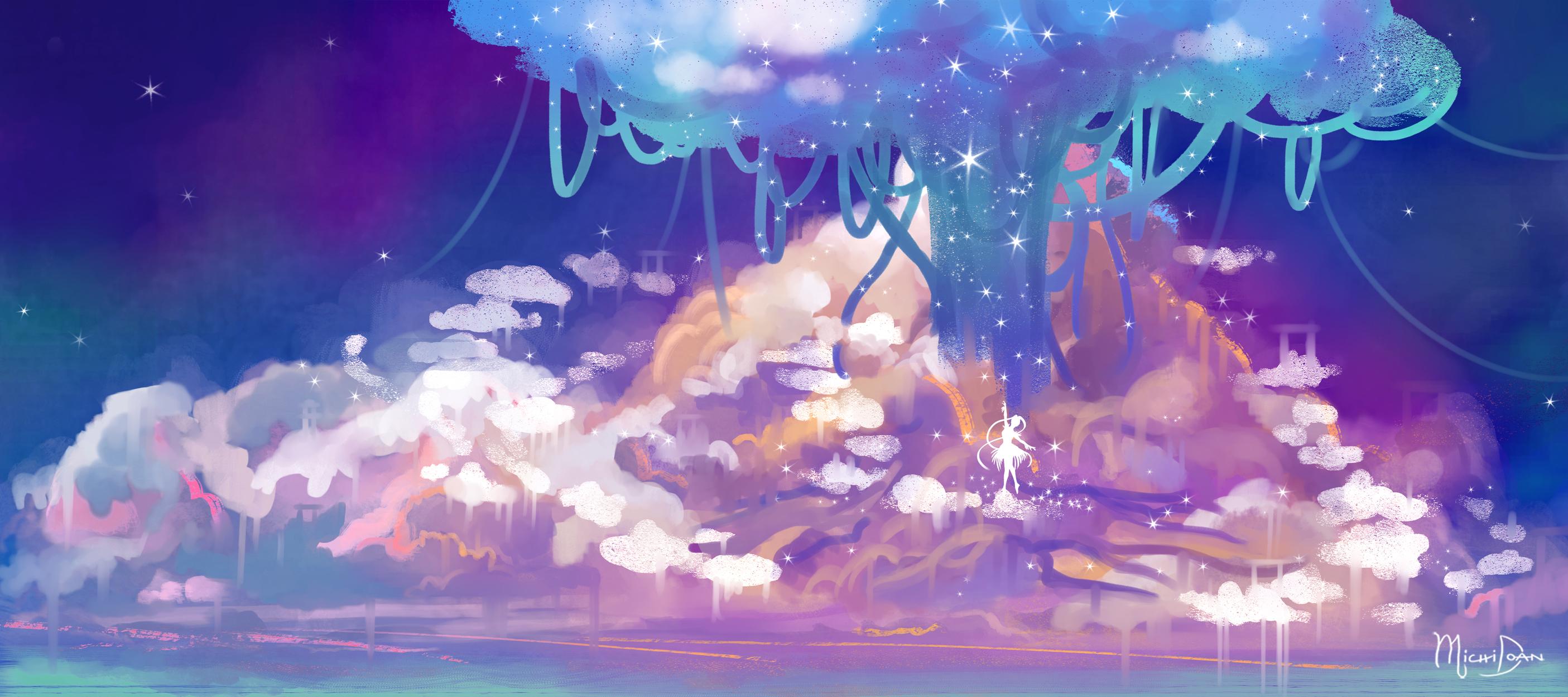 Startlight Dream Artwork by Michi Doan