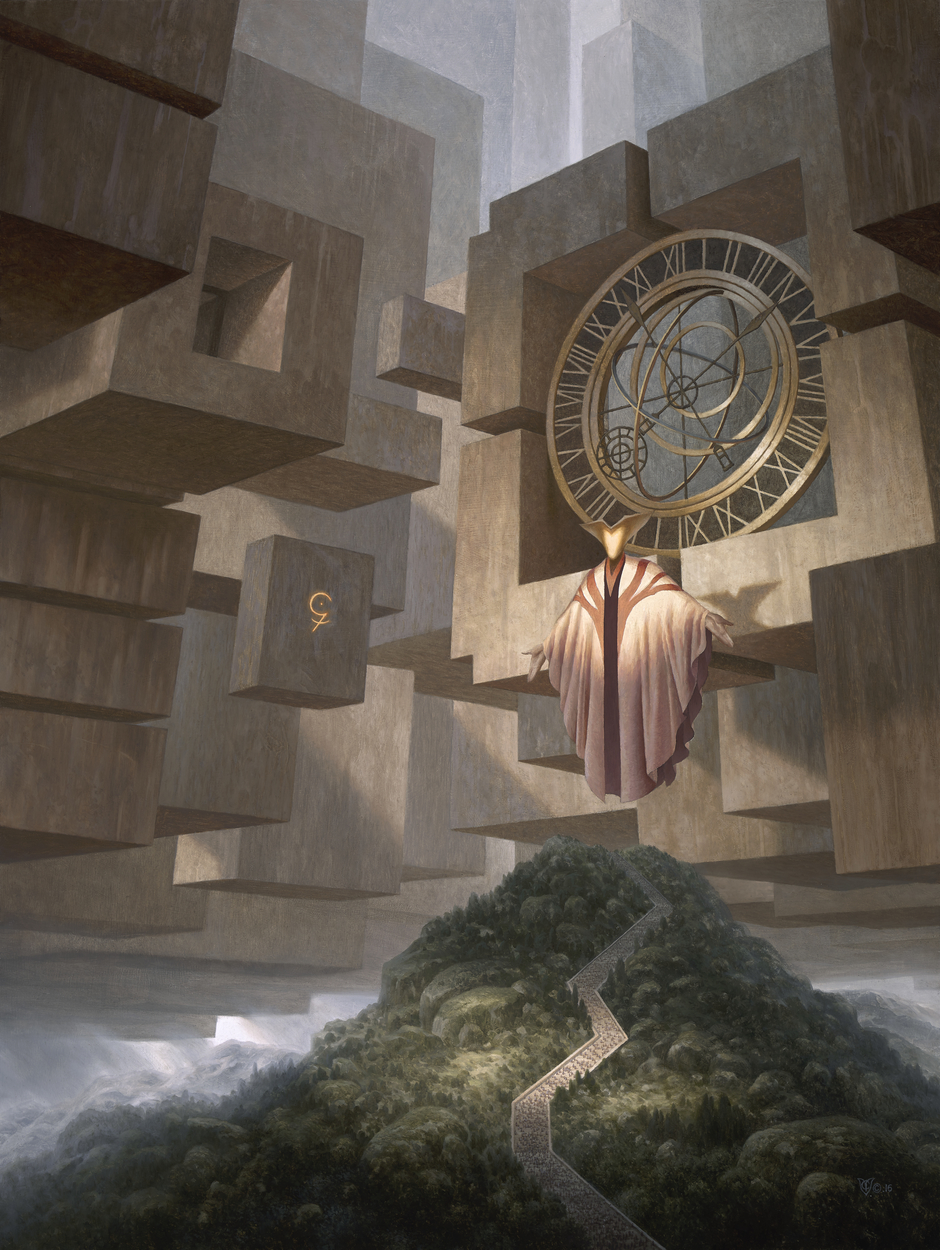Chronos: The Wheel Of Time Artwork by Christophe Vacher