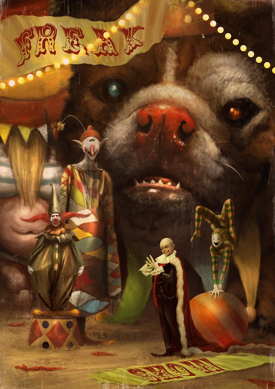 Freak Show Artwork by Camille Alquier
