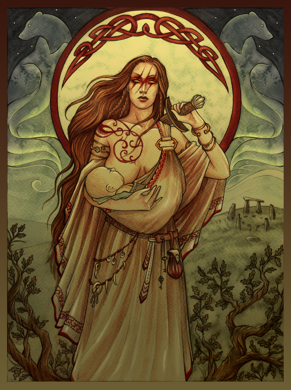 Mother Artwork by Natasa Ilincic