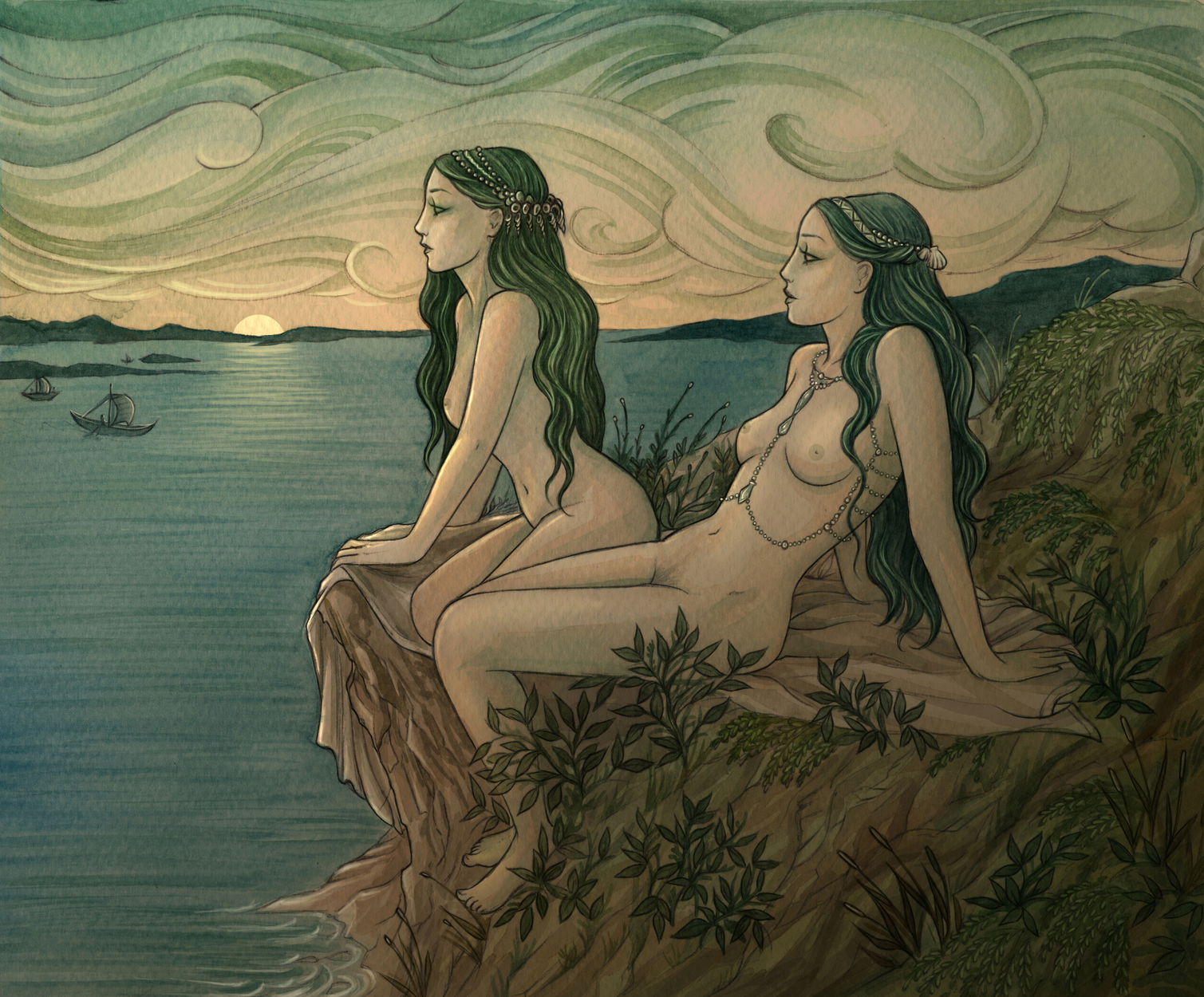 Nereids Artwork by Natasa Ilincic