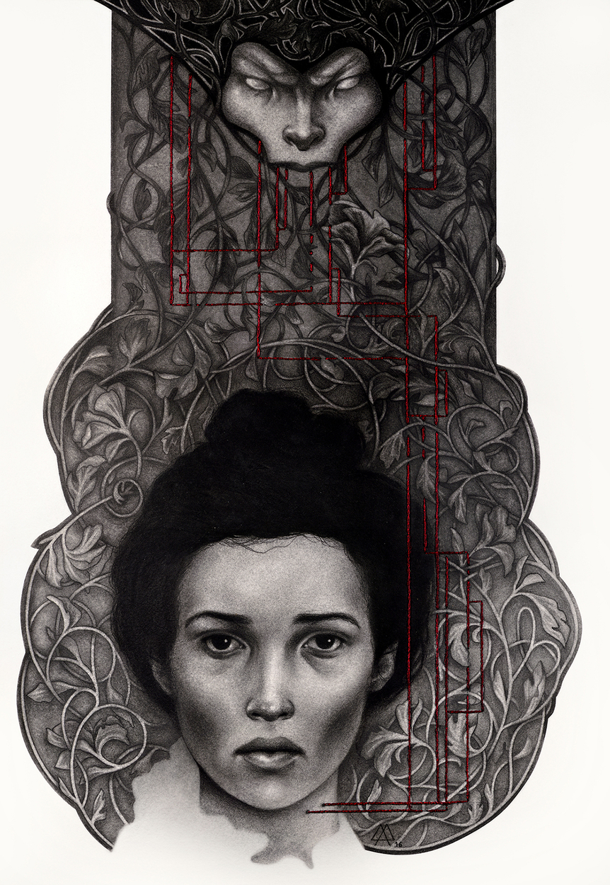 Mina's Nightmare Artwork by Adeline Martin