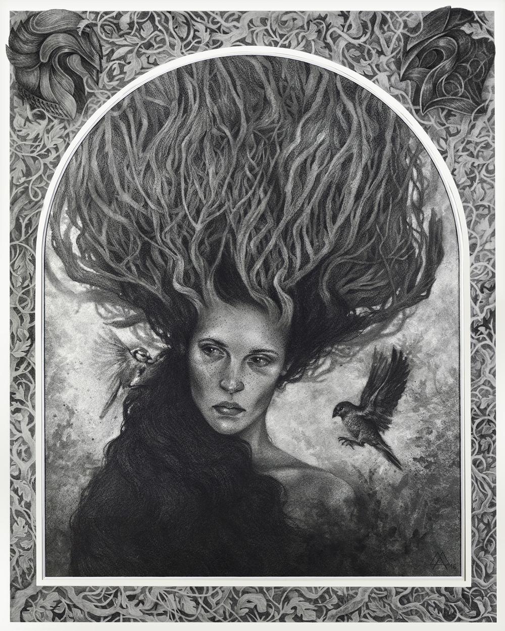 Nemus Artwork by Adeline Martin