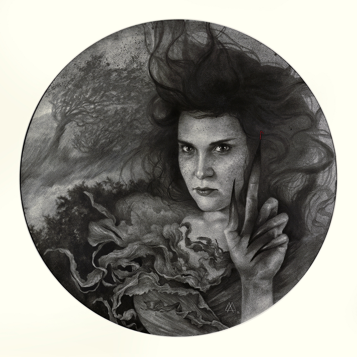 The Wicked Circle Artwork by Adeline Martin