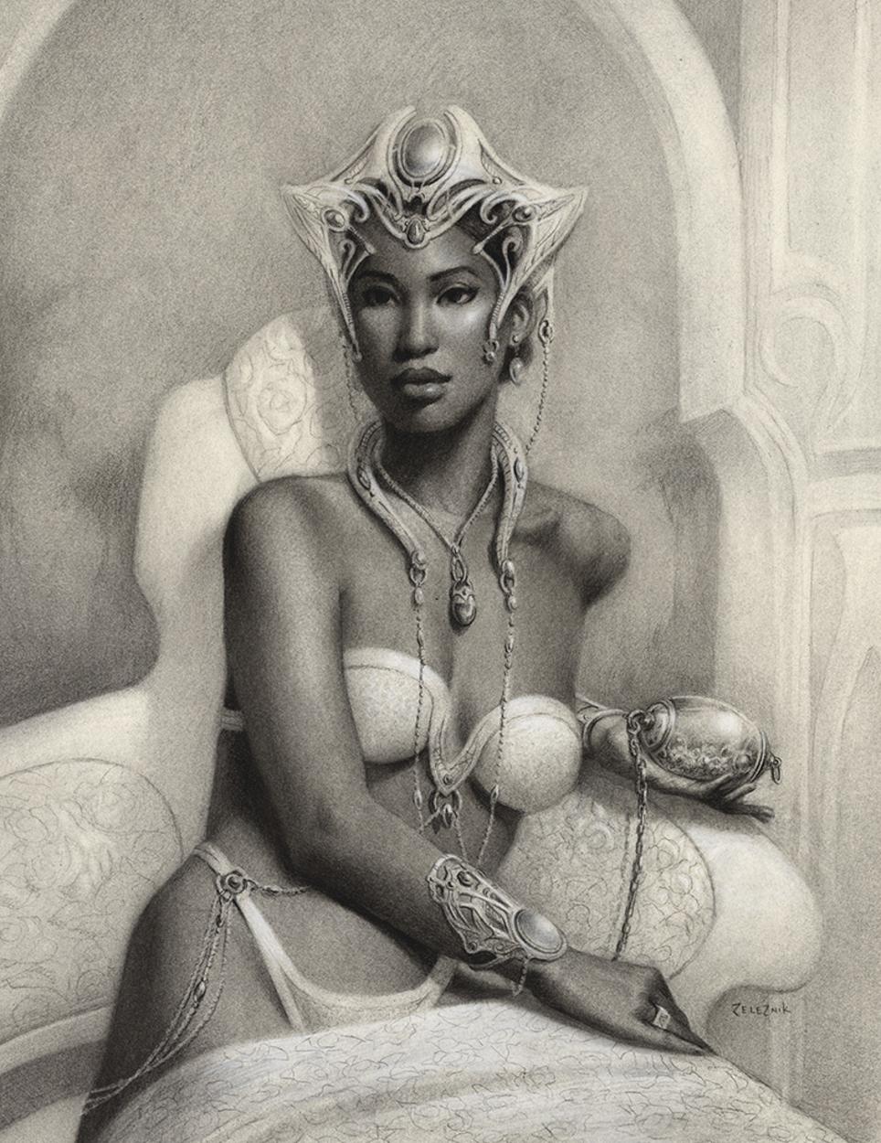 Princess Analiea Artwork by John Zeleznik