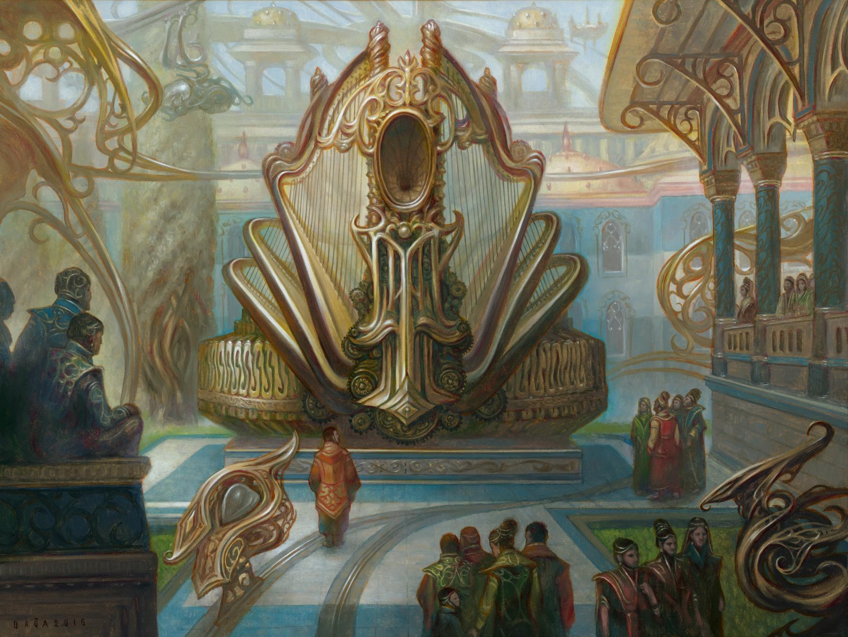Panharmonicon Artwork by Volkan Baga
