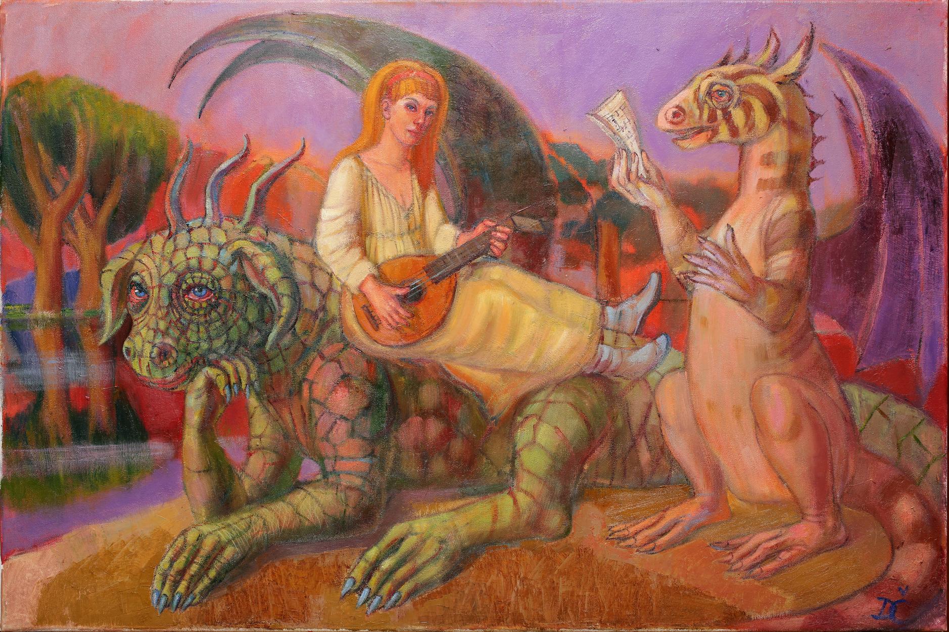 Concerto Artwork by Dagnia Cherevichnik