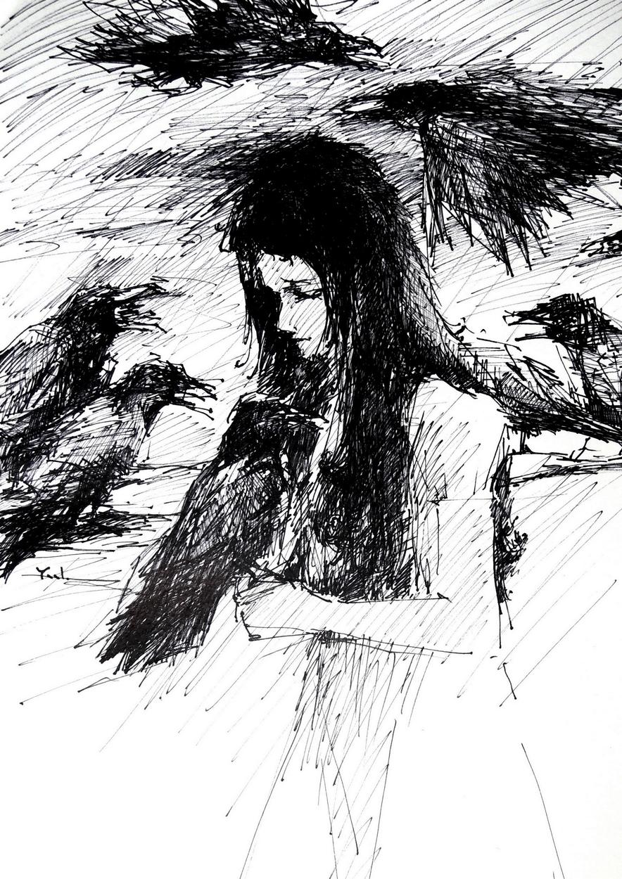 The Seven Ravens #1 Artwork by Yael Maimon