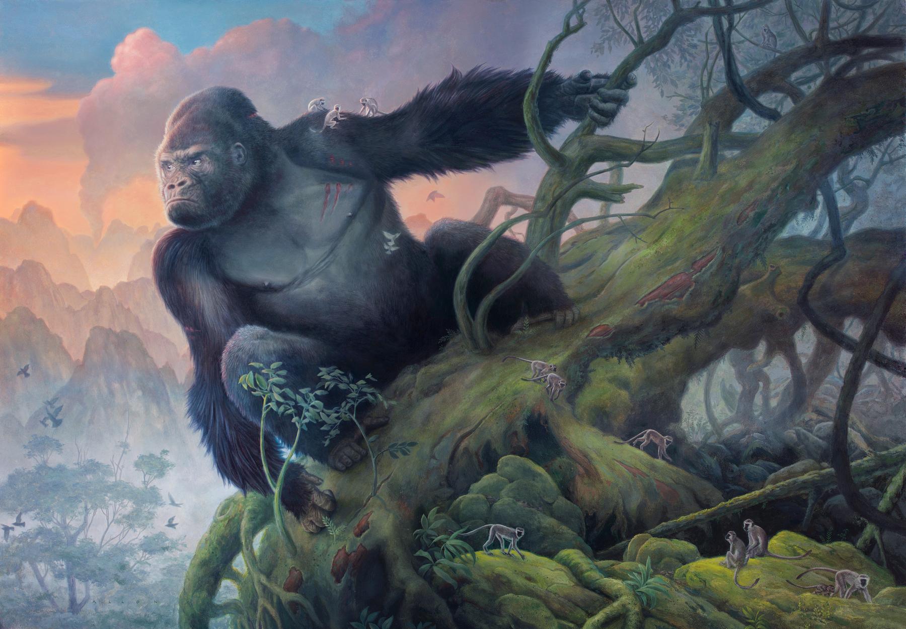 Kong Artwork by Allen Douglas