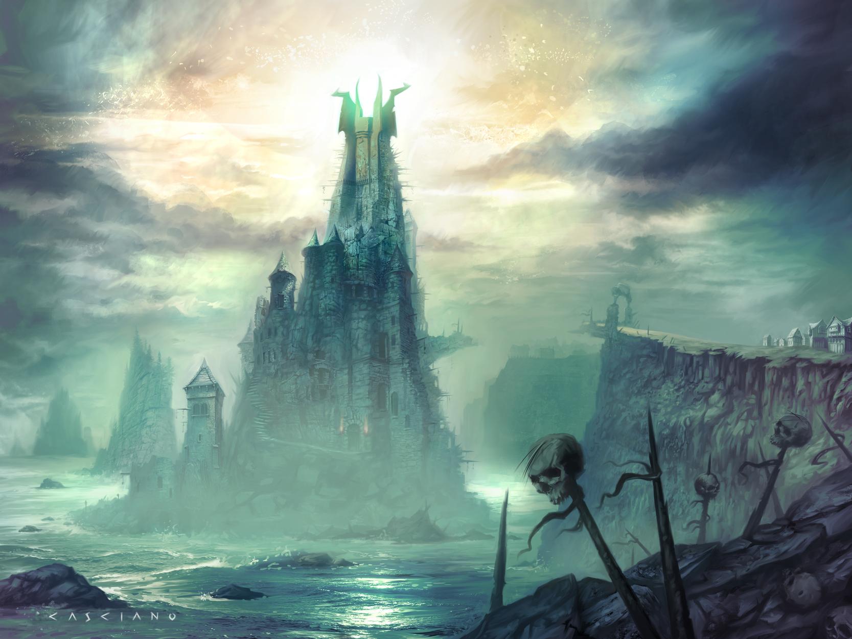 Tower of Tynebris Artwork by Chris Casciano