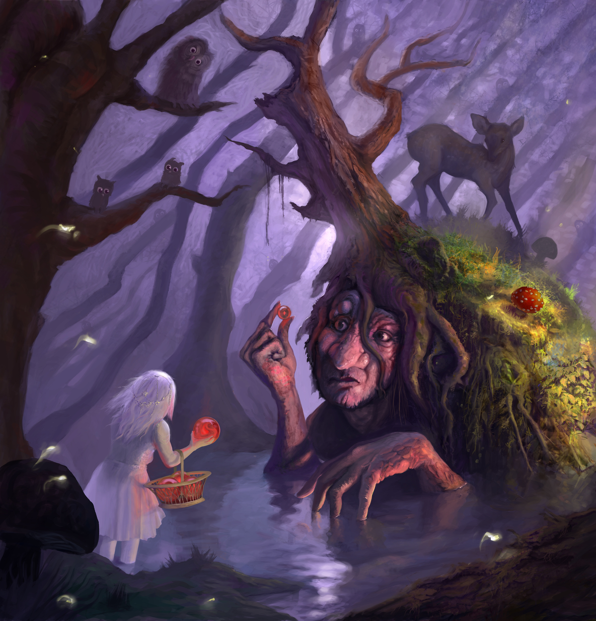 Forest Rendezvouz  Artwork by Khurrum Maqbool