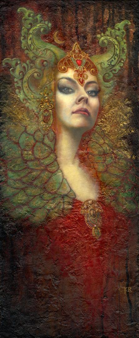 Luna Artwork by Lisa L. Cyr