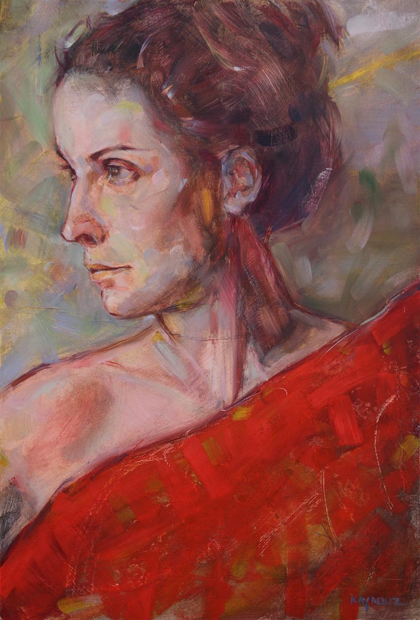 Kristen Series 1 Artwork by john kayrouz
