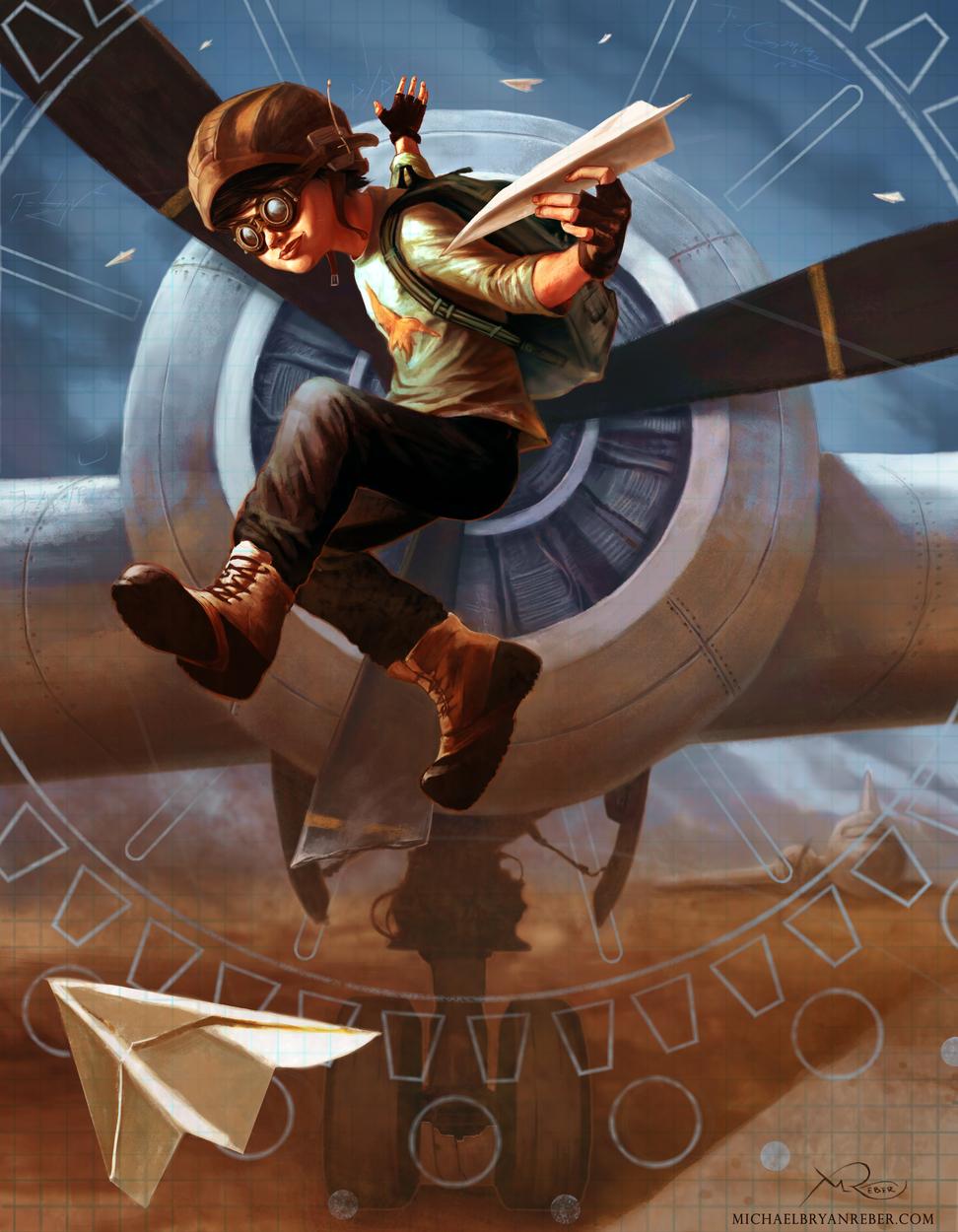 Flight Artwork by Michael Reber