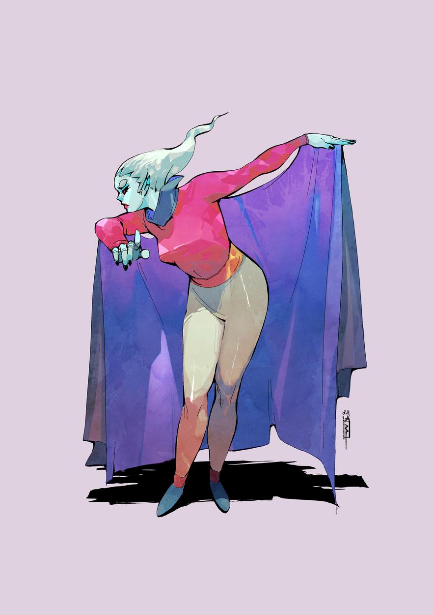 Vampadudette Artwork by Boell Oyino