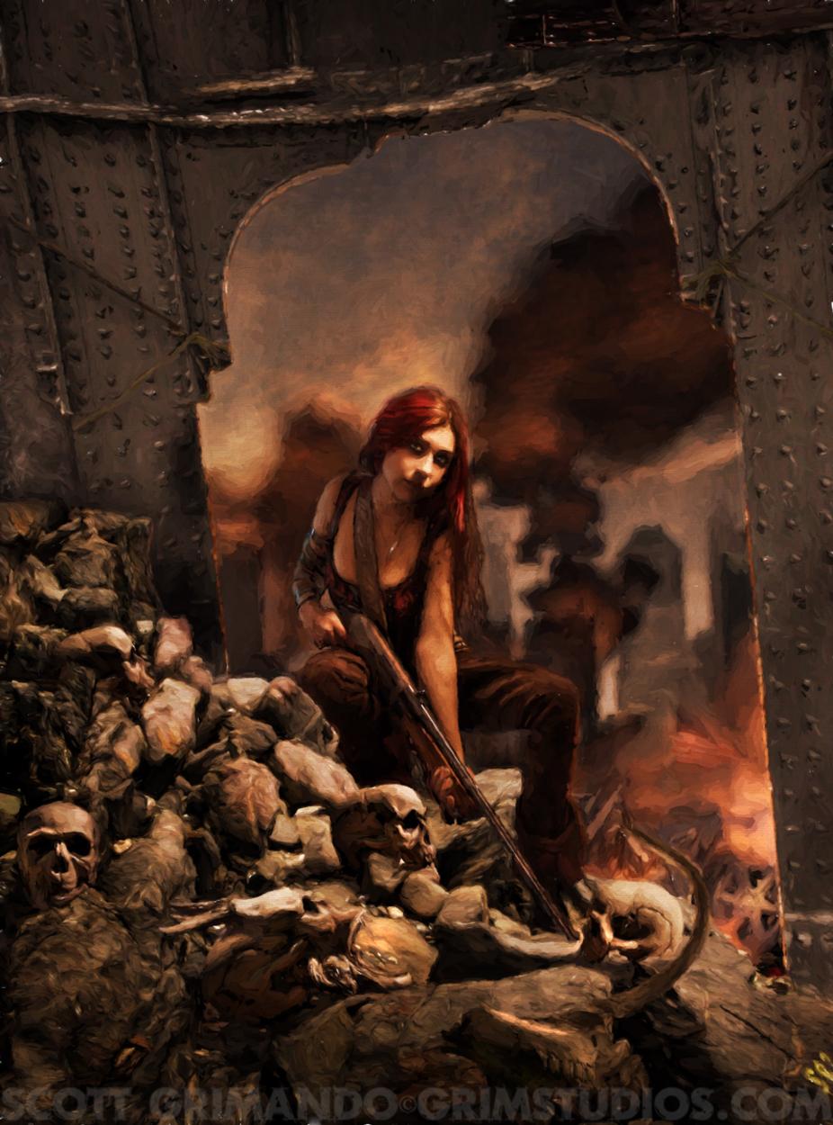 Resident Evil Artwork by Scott Grimando