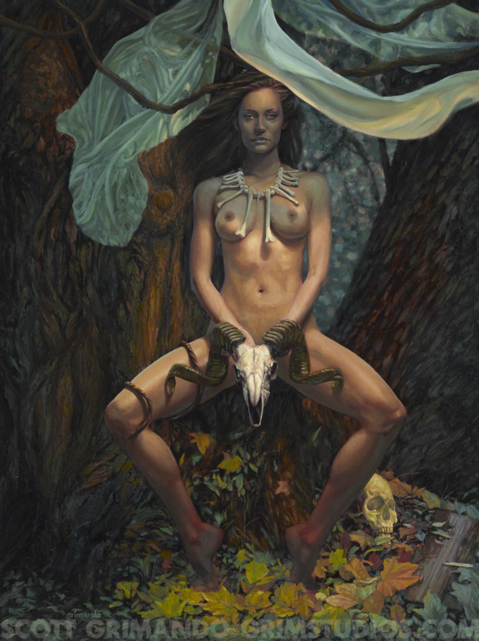 Bone Witch Artwork by Scott Grimando