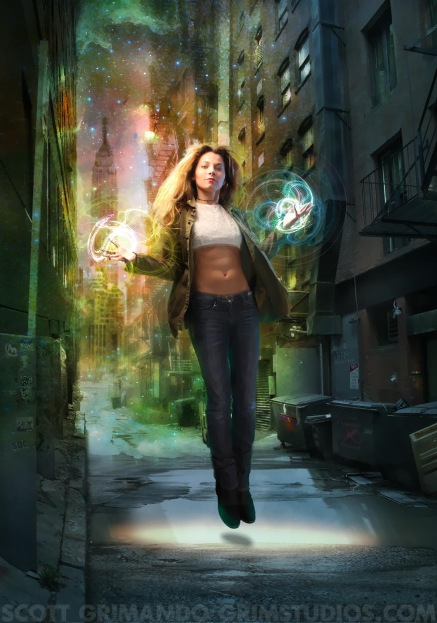 Street Magicks Artwork by Scott Grimando