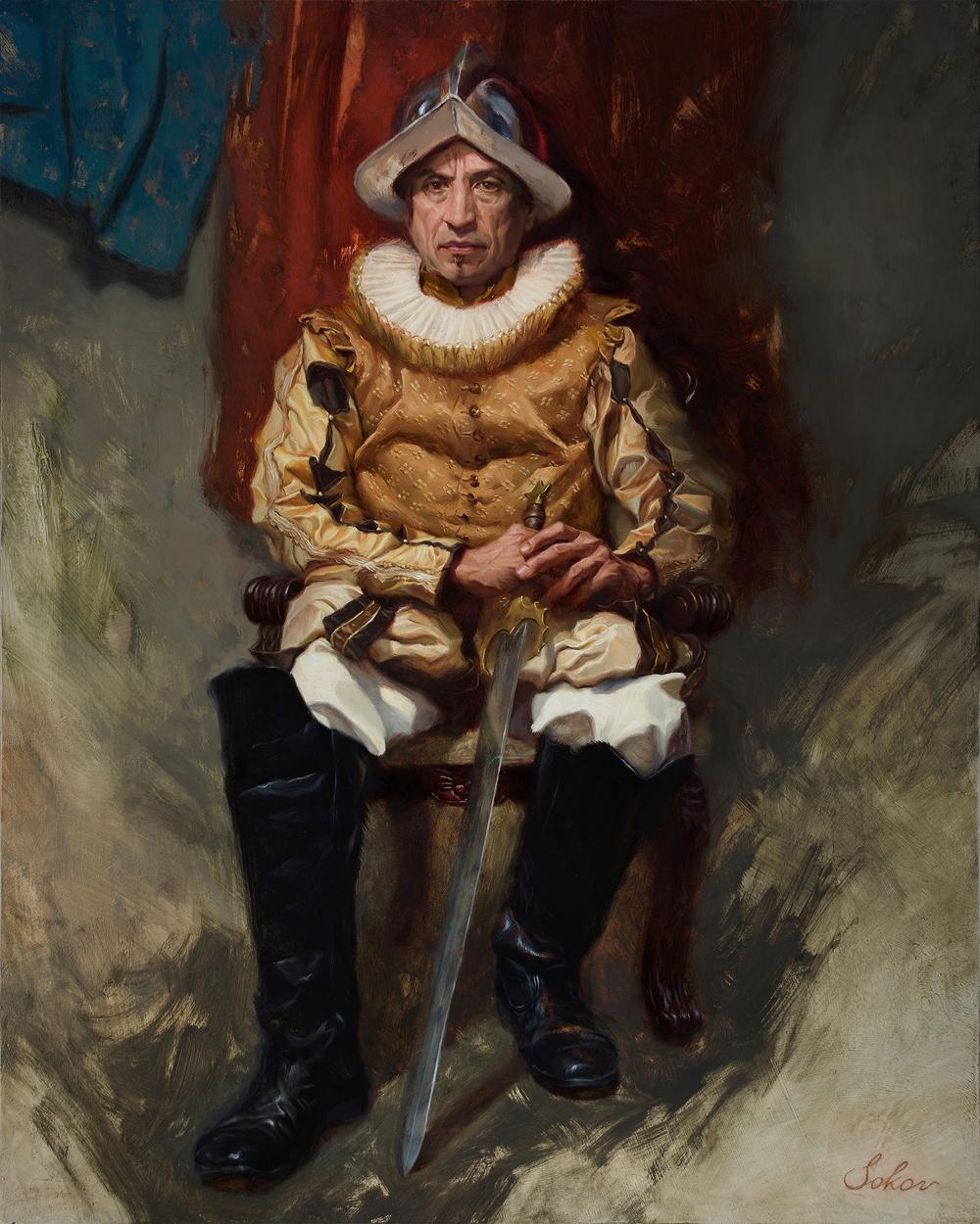 Conquistador Artwork by Pavel Sokov