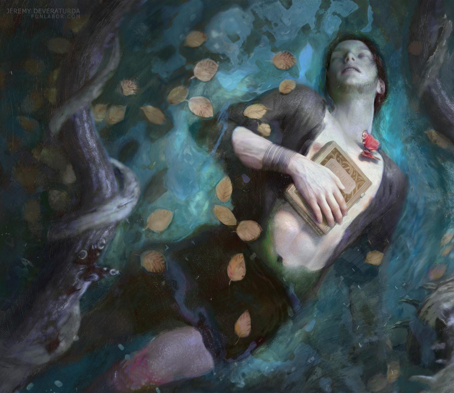 Requiem Artwork by Jeremy Deveraturda