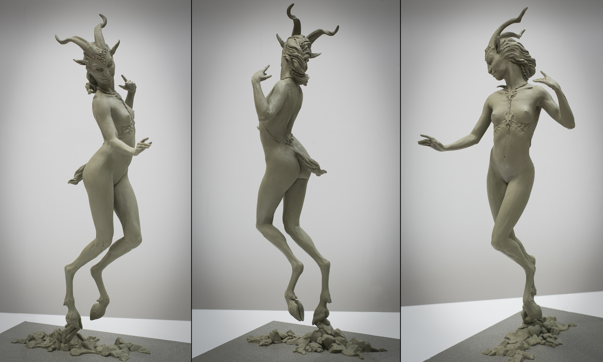 Dancing Faun Artwork by Colin and Kristine Poole